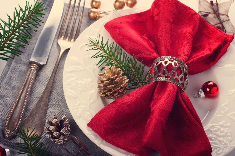 tavola per il Natale